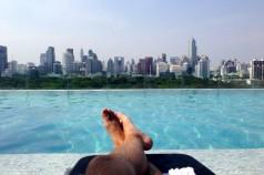 The Infinity Pool, overlooking Bangkok, Sofitel So Bangkok